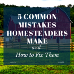 5 common errors homesteaders make and the way to fix them – 15 acre homestead