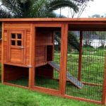 Building an outdoor chicken house