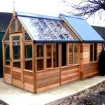 Chicken house and green house construction