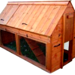 Chicken house ventilation – summer time and winter