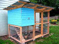Indiana chicken coop - plans from TheGardenCoop.com