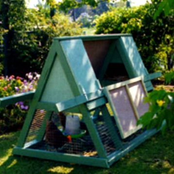 portable ark chicken coop