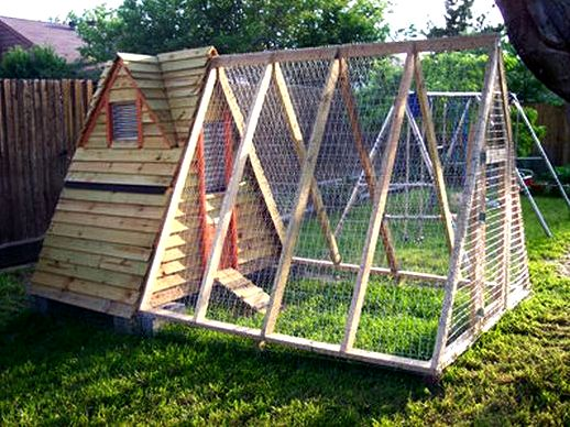 Backyard chicken house: 6 steps (with pictures) scrap wood from old