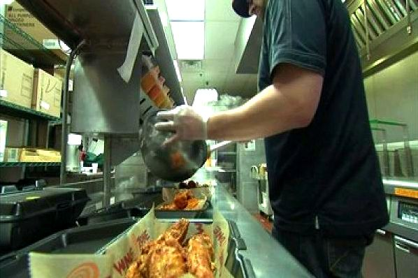 Here's where you'll get free wings on national chicken wing day provide customers who order