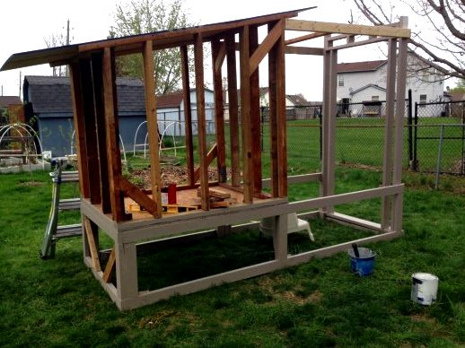 Diy chicken house: it is not as hard as you may think your feathered buddies within