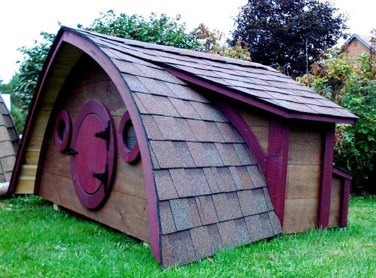 Hobbit hole chicken coops, and much more! - hobbit hole playhouses, chicken coops, doghouses, more! Normal turnaround time on