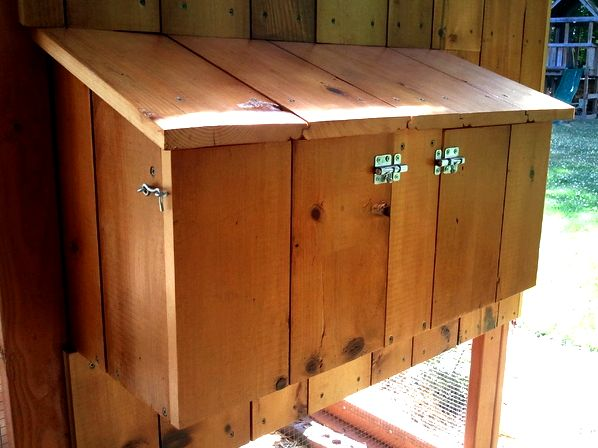 nesting boxes closed